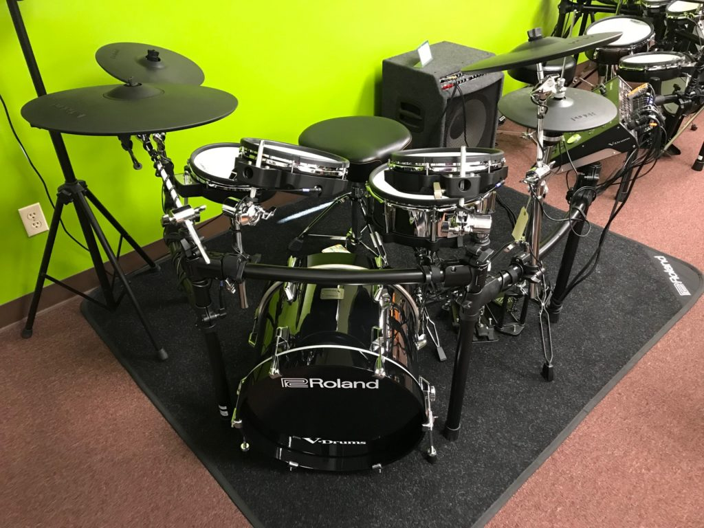"Roland TD-50K V-Drums Custom Kit with KD-180 18"" Bass Drum ..."