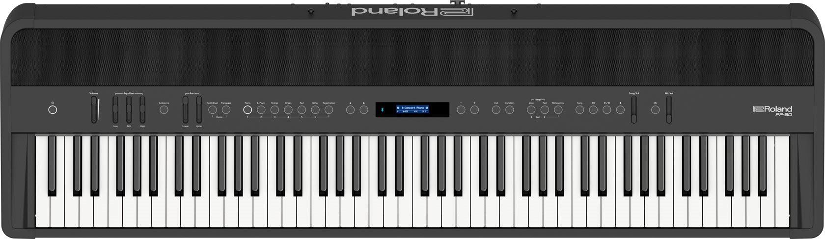 Roland Fp 90 Premium Portable Digital Piano Pro Package