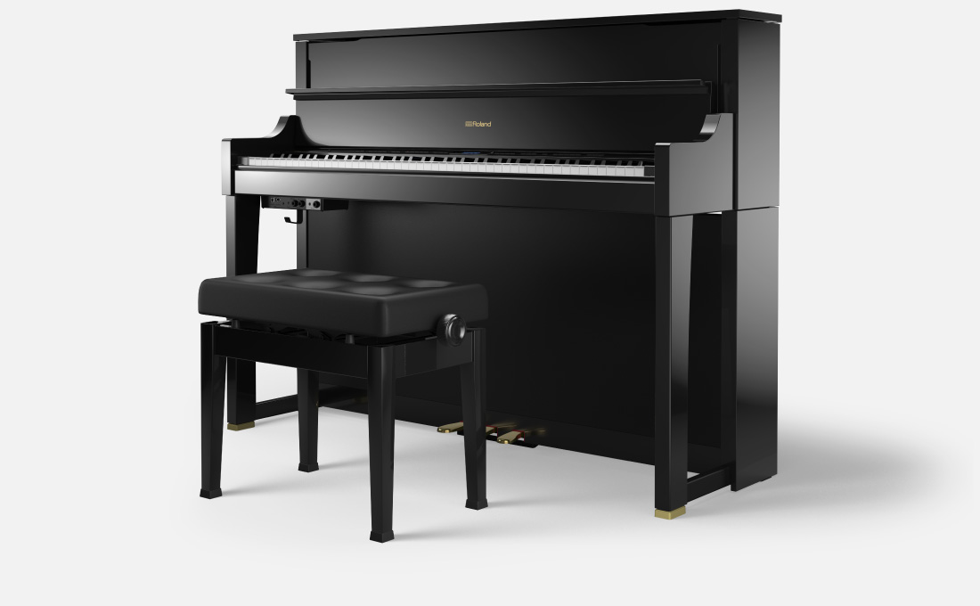 roland lx 17 premium upright digital piano capital music. Black Bedroom Furniture Sets. Home Design Ideas