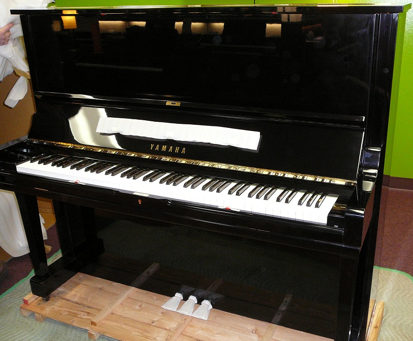 Yamaha u3 52 professional upright piano used capital music for Yamaha piano los angeles